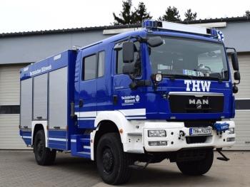 Fahrzeug der 1. Bergungsgruppe: GKW I
