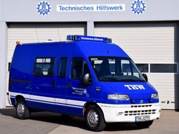 Fahrzeug des OV-Stabes: MTW OV