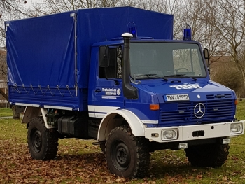 Fahrzeug des OV-Stabes: Unimog
